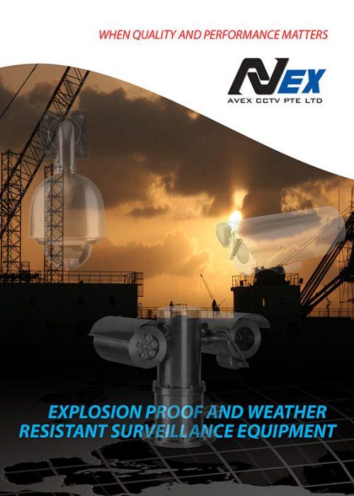 Explosion proof CCTV Cameras